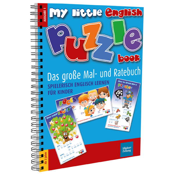 My little english puzzle book I